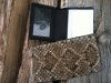 Bifold Snakeskin Wallet with window or card slots