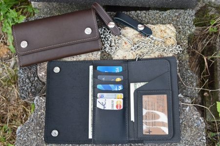 Trucker or Motorcycle Credit Card Wallet