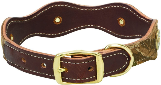 "Weaver Leather Backwoods Collar - Pink or Green - 11"" and 13"""
