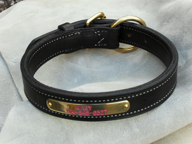 Dog Collars - English Bridle Leather Insko Made