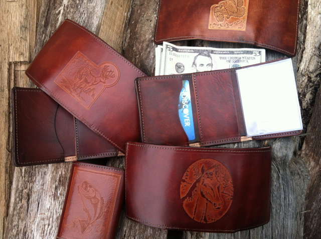 Trifold Embossed Wallet