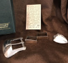 "3/4"" Sterling Silver Buckle Set by Jeep Collins"