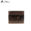 MWS-W022 Genuine Leather Tooling Collection Men's Wallet